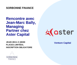 Rencontre avec Aster Capital