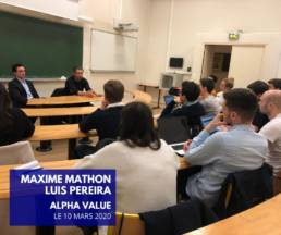 alpha value et sorbonne finannce
